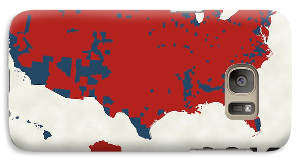 2016 Election Results Galaxy S7 Case by Finlay McNevin