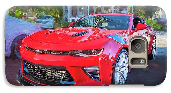 Galaxy Case featuring the photograph 2017 Chevrolet Camaro Ss2  by Rich Franco