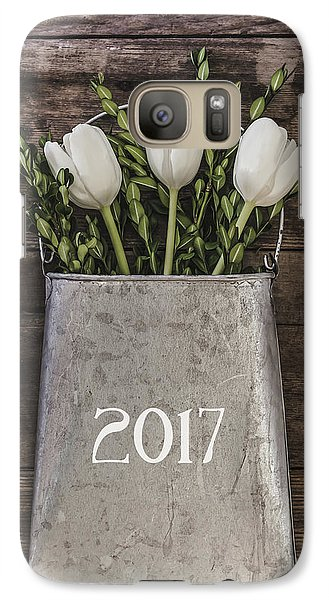 Galaxy Case featuring the photograph 2017 by Kim Hojnacki