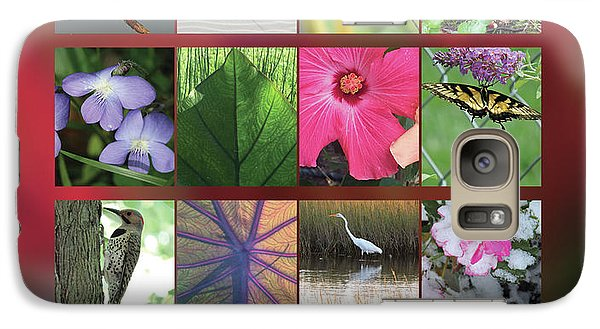 Galaxy Case featuring the photograph 2017 Nature Calendar by Peg Toliver