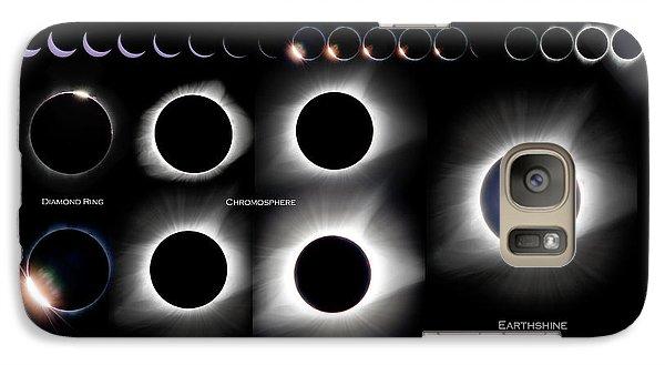 2017 Solar Eclipse Collage Galaxy S7 Case