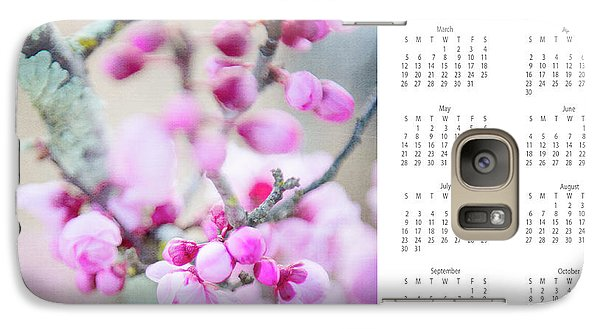 Galaxy Case featuring the photograph 2017 Wall Calendar Cherry Blossoms by Ivy Ho