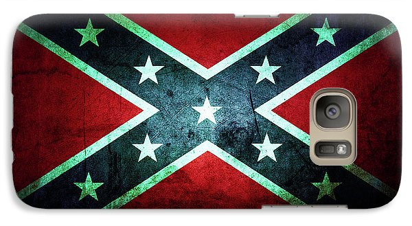 Galaxy Case featuring the photograph Confederate Flag by Les Cunliffe