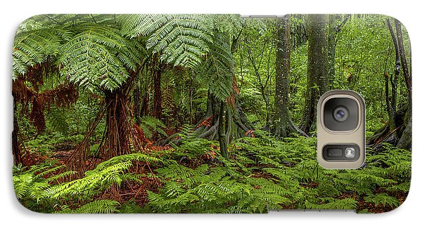 Galaxy Case featuring the photograph Jungle by Les Cunliffe