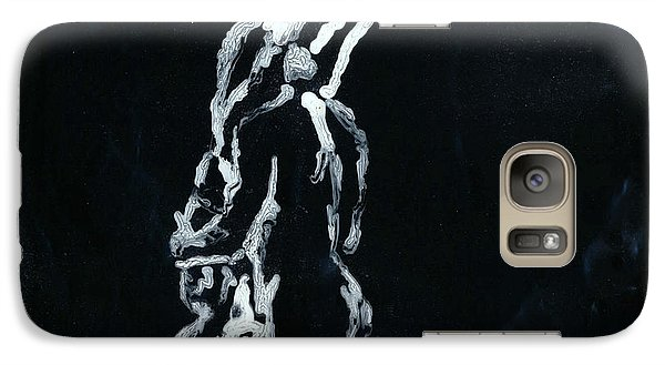 Galaxy Case featuring the painting #218 by Denise Deiloh