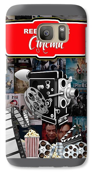 Movie Room Decor Collection Galaxy Case by Marvin Blaine