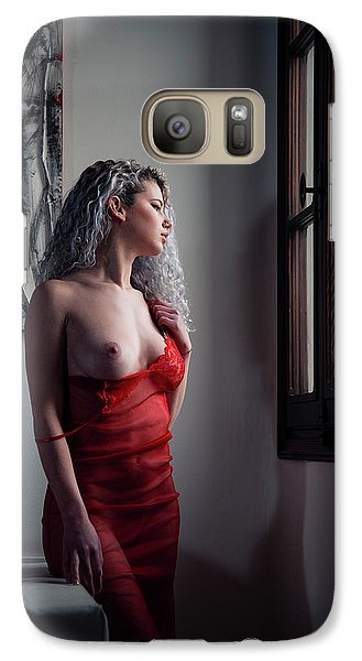 Galaxy Case featuring the photograph Tu M'as Promis by Traven Milovich