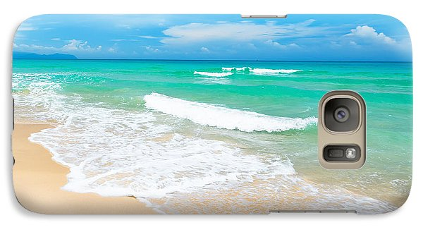 Beach Galaxy S7 Case - Beach by MotHaiBaPhoto Prints