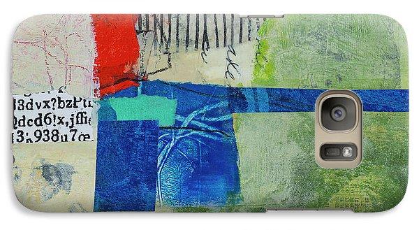 Galaxy Case featuring the mixed media 23 by Elena Nosyreva
