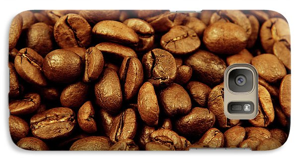 Galaxy Case featuring the photograph Coffee Beans by Les Cunliffe