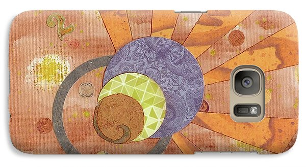 Galaxy Case featuring the mixed media 2life by Desiree Paquette
