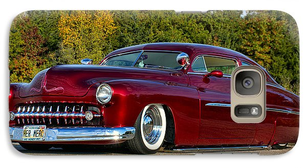 Galaxy Case featuring the photograph 1951 Mercury Low Rider by Tim McCullough