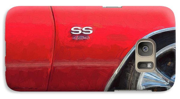 Galaxy Case featuring the photograph 1970 Chevy Chevelle 454 Ss  by Rich Franco
