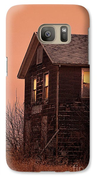 Galaxy Case featuring the photograph Abandoned House by Jill Battaglia