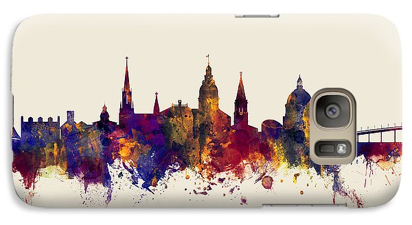 Galaxy Case featuring the digital art Annapolis Maryland Skyline by Michael Tompsett