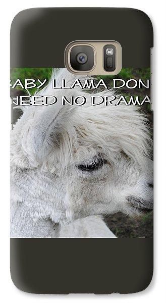 Baby Llama Galaxy Case by Ellen Henneke