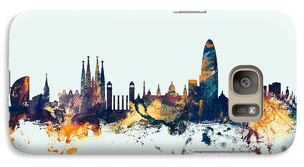Barcelona Spain Skyline Galaxy S7 Case