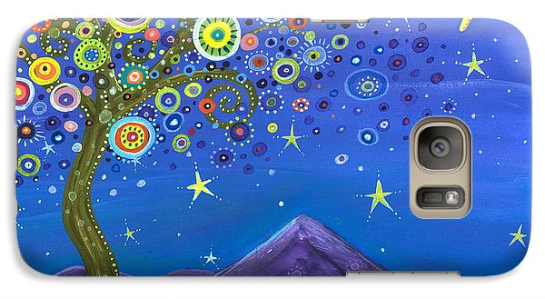 Galaxy Case featuring the painting Believe In Your Dreams by Tanielle Childers