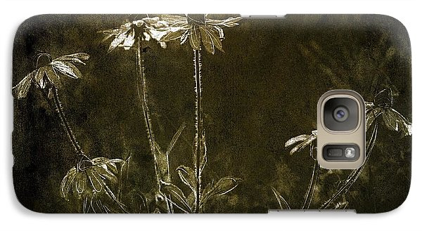 Galaxy Case featuring the photograph Black Eyed Susans by Jim Vance