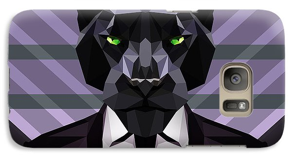Black Panther Galaxy S7 Case by Gallini Design