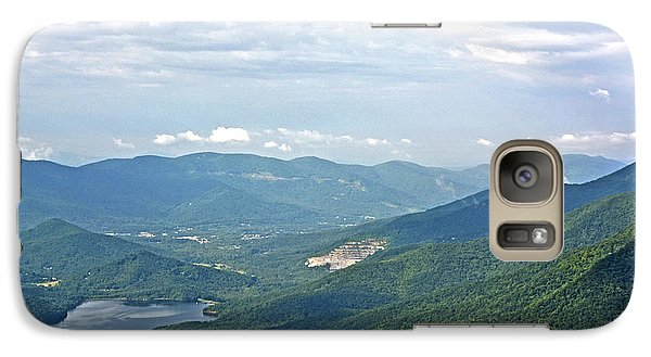 Galaxy Case featuring the photograph Blue Ridge Parkway by Janice Spivey