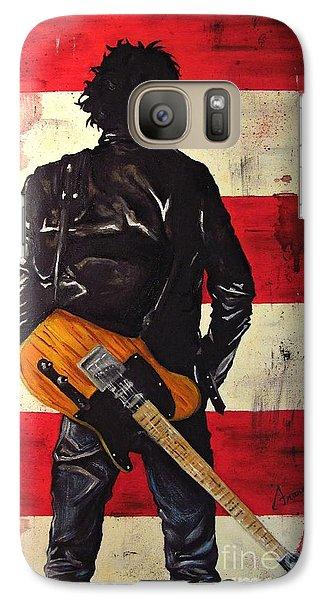 Bruce Springsteen Galaxy S7 Case - Bruce Springsteen by Francesca Agostini