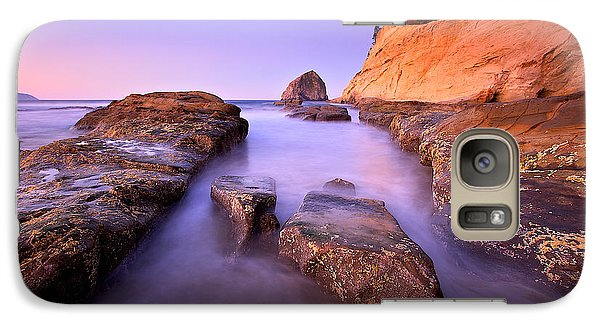 Galaxy Case featuring the photograph Cape Kiwanda by Evgeny Vasenev