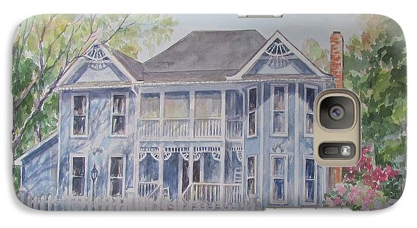 Galaxy Case featuring the painting Commissioned Home Portrait by Gloria Turner