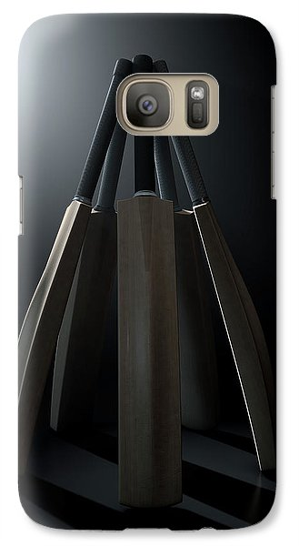 Cricket Back Circle Dramatic Galaxy S7 Case by Allan Swart