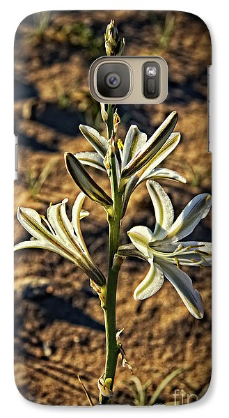 Galaxy Case featuring the photograph Desert Lily by Robert Bales