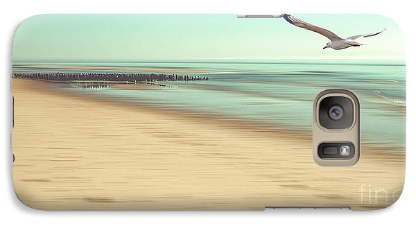 Galaxy Case featuring the photograph Desire Light Vintage by Hannes Cmarits