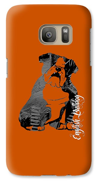 English Bulldog Collection Galaxy S7 Case