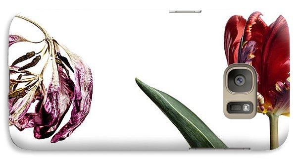 Tulip Galaxy S7 Case - Fading Beauty by Nailia Schwarz