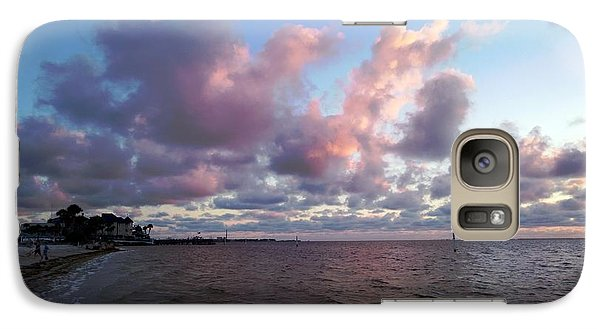 Galaxy Case featuring the photograph Florida Sunset by Vicky Tarcau