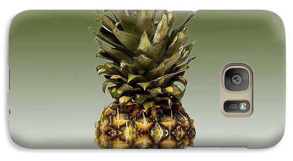 Galaxy Case featuring the photograph Fresh Ripe Pineapple Fruits by David French