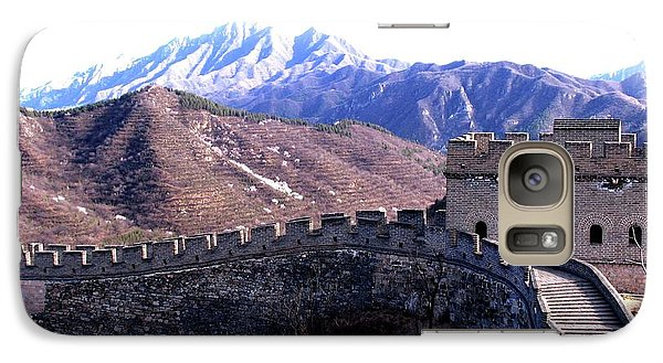 Galaxy Case featuring the photograph Great Wall by Marti Green