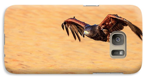 Galaxy Case featuring the photograph Harris Hawk by Alexey Stiop