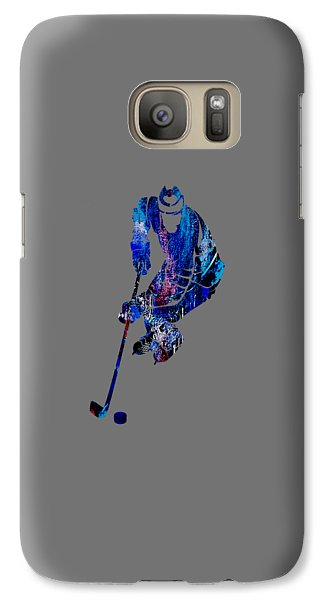 Hockey Collection Galaxy Case by Marvin Blaine