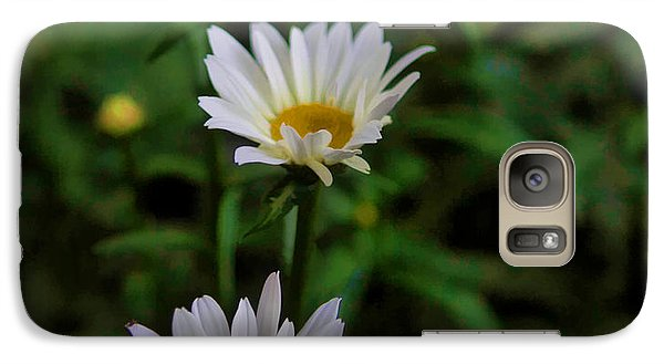 Galaxy Case featuring the photograph 3 In A Row by Cherie Duran