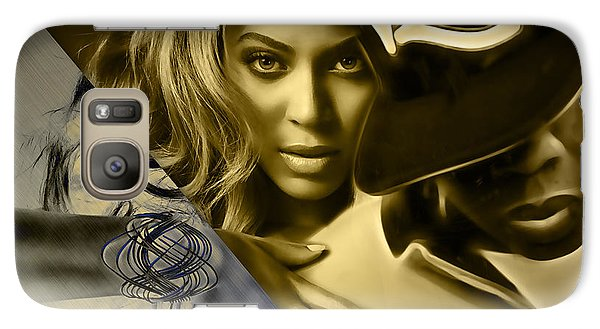 Jay Z Beyonce Collection Galaxy Case by Marvin Blaine