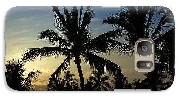 Galaxy Case featuring the photograph Kona Sunset by Kelly Wade