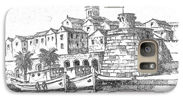 Galaxy Case featuring the photograph Korcula Croatia by Joseph Hendrix
