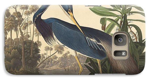 Ibis Galaxy S7 Case - Louisiana Heron by Dreyer Wildlife Print Collections