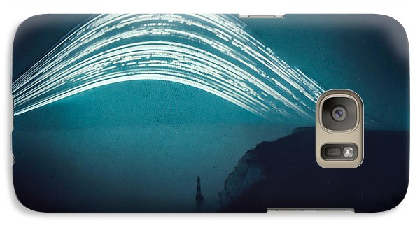 3 Month Exposure At Beachy Head Lighthouse Galaxy S7 Case
