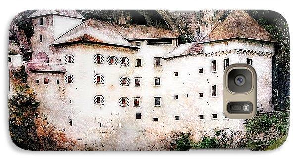 Galaxy Case featuring the photograph Predjama Castle, Predjama Slovenia by Joseph Hendrix