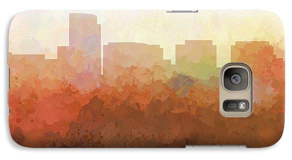 Galaxy Case featuring the digital art Rosslyn Virginia Skyline by Marlene Watson