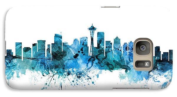Seattle Washington Skyline Galaxy S7 Case