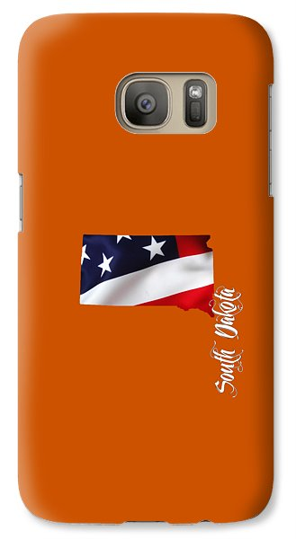 South Dakota Map Collection Galaxy Case by Marvin Blaine
