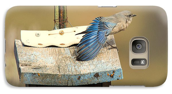 Spread Your Wings Galaxy Case by Mike Dawson