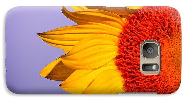 Sunflowers Galaxy Case by Mark Ashkenazi